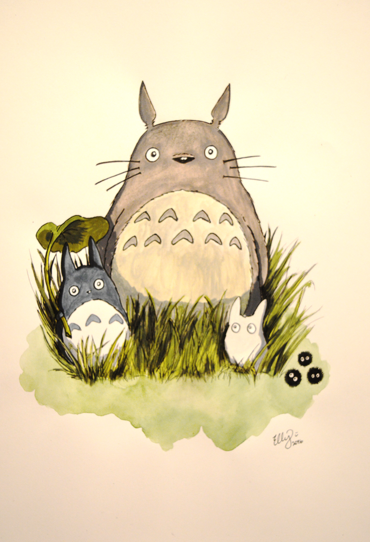 It's Totoro! by ElzieBanana