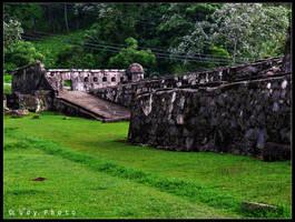 Portobelo ruins by Ludiie