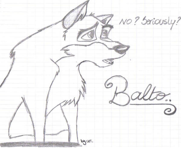 Balto Howling Coloring Pages