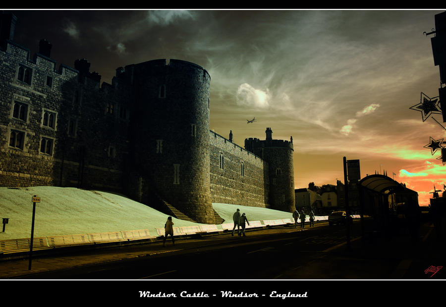 Windsor Castle by neoxavier