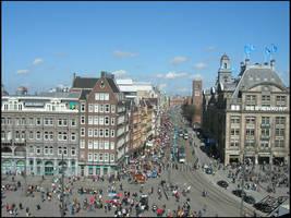 amsterdam city landscape by neoxavier