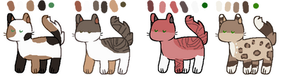 FREE warrior cat adopts! - 1/4 OPEN
