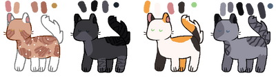 FREE warrior cat adopts! - OPEN 3/4