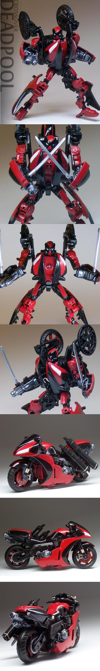 Custom Deadpool Transformer by NARPASWORD