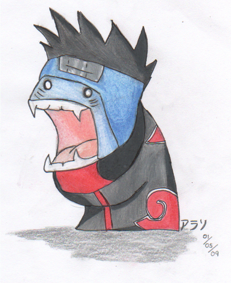 Chibi Kisame - Naruto by Shinoharaa on DeviantArt
