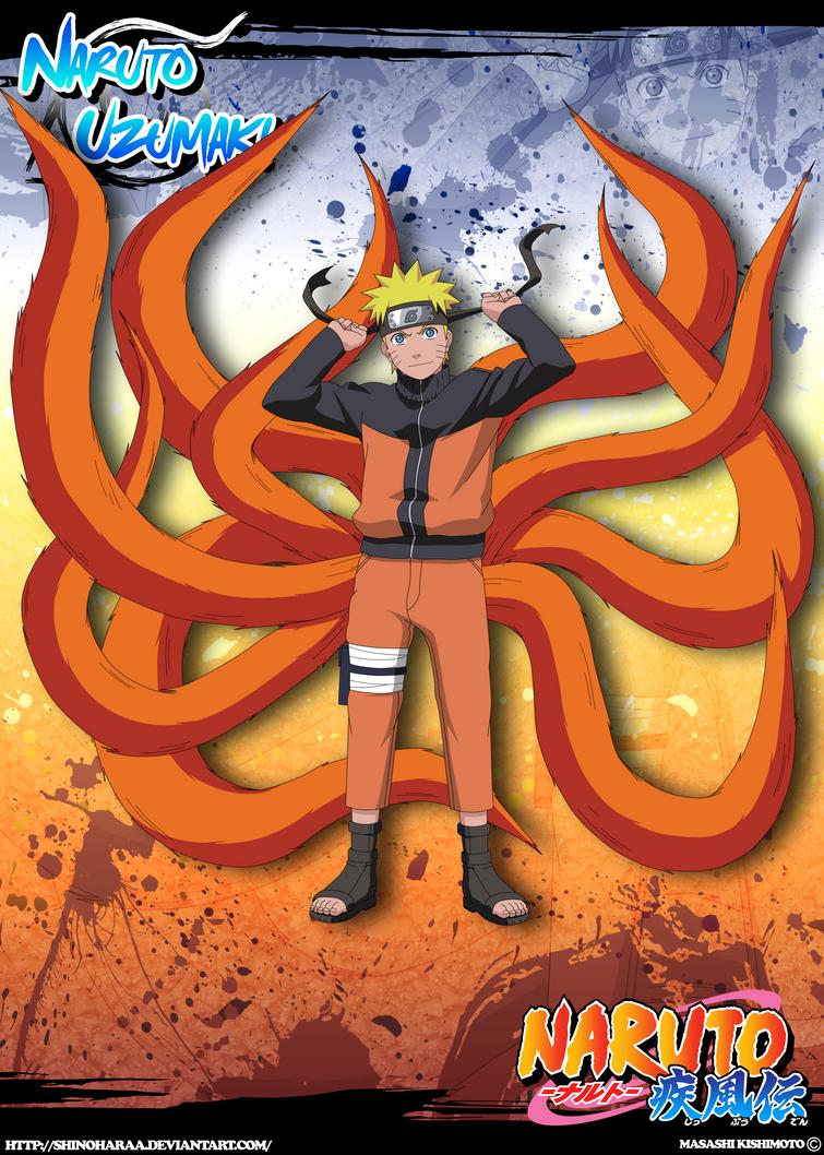 Kyuubi Jinchuuriki Naruto Uzumaki -Kyuubi...