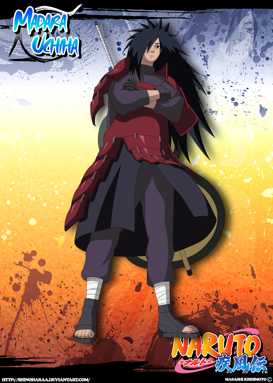 Madara Uchiha by Shinoharaa