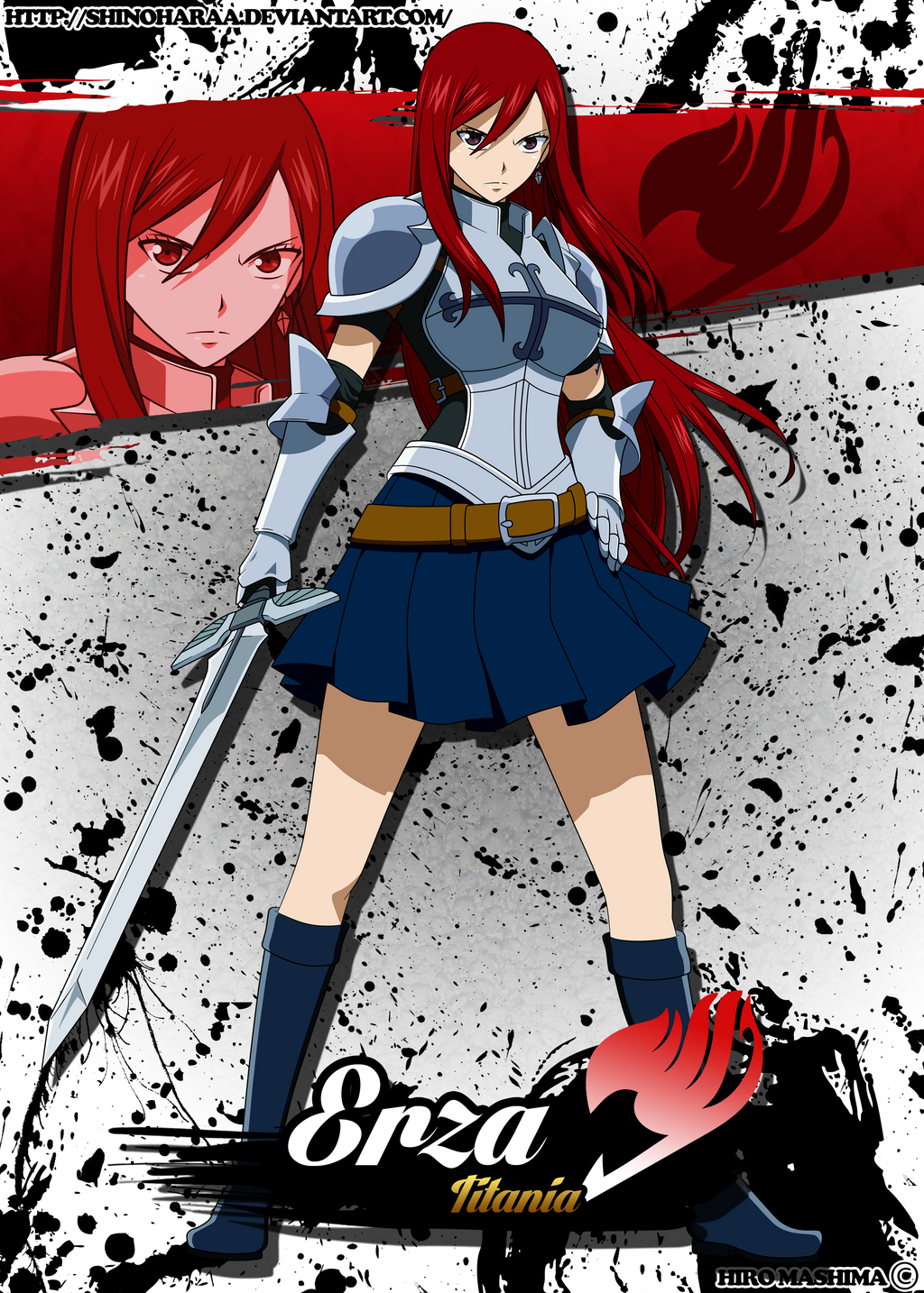 Erza Scarlet Pu... Erza Scarlet Armor Types