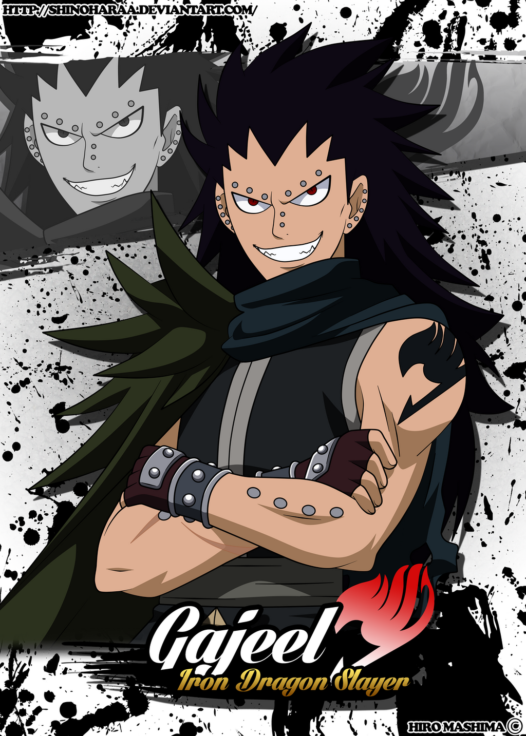 Fairy Tail Gajeel Cat
