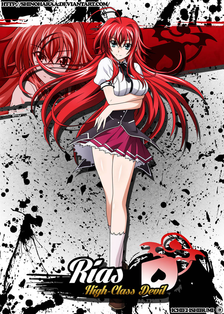 Rias Gremory And Issei Married