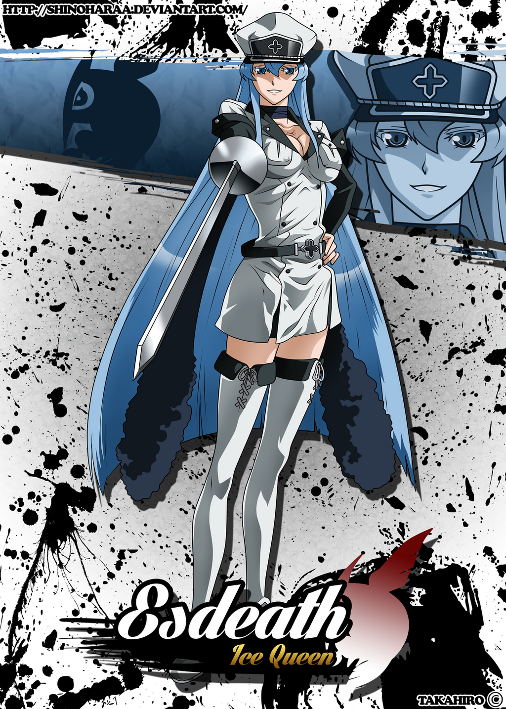 In Law Unit Esdeath By Shinoharaa On Deviantart