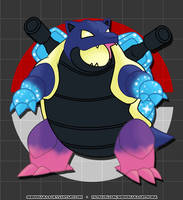009 Cosmic Blastoise by Shinoharaa