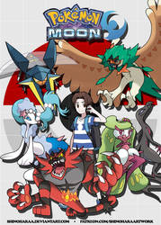 My Hall of Fame - Pokemon Moon
