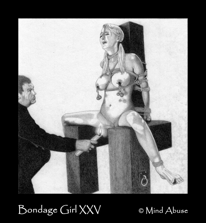 Bondage Girl XXV by MindAbuse