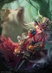 Steampunk Chainsaw Warrior