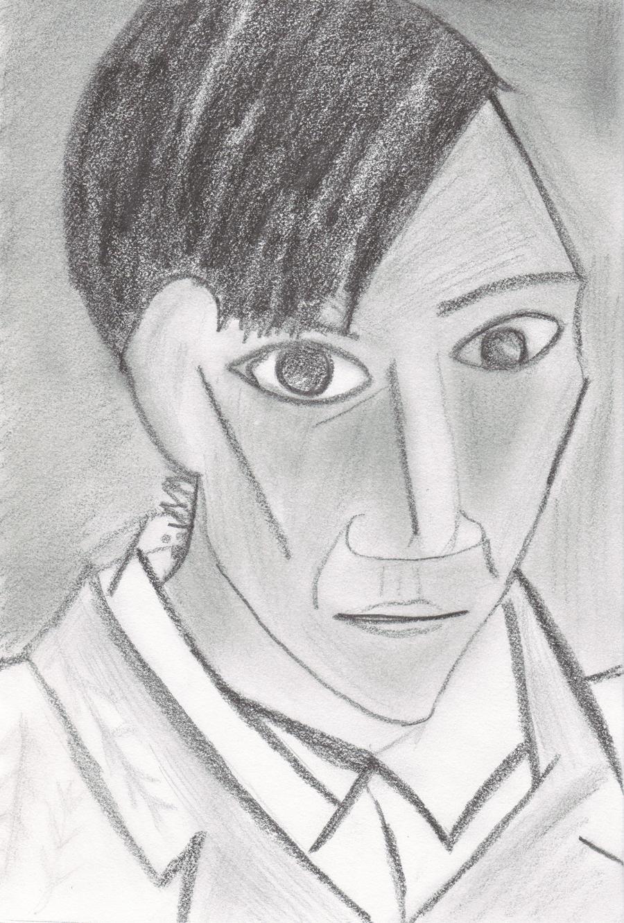 Pablo Picaso's Self Portrait by Reijou on DeviantArt