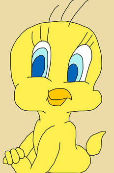 My First Sketch From Tweety