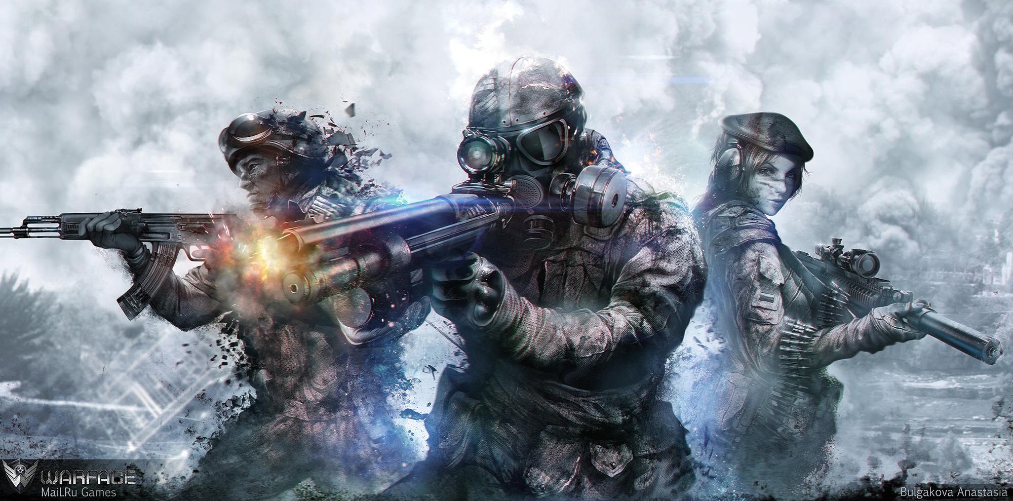 WarFace by Sinto-risky on DeviantArt: http://sinto-risky.deviantart.com/art/WarFace-375642468