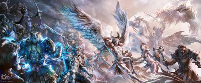 PW Battle Art