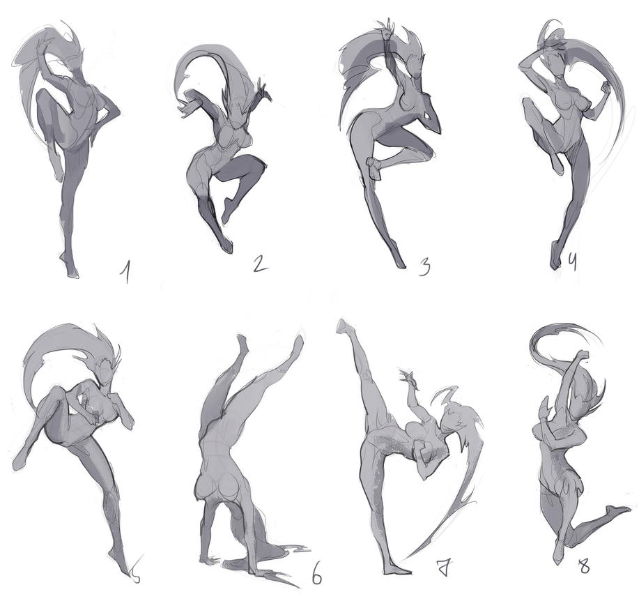 Poses for new art by Sinto-risky on DeviantArt
