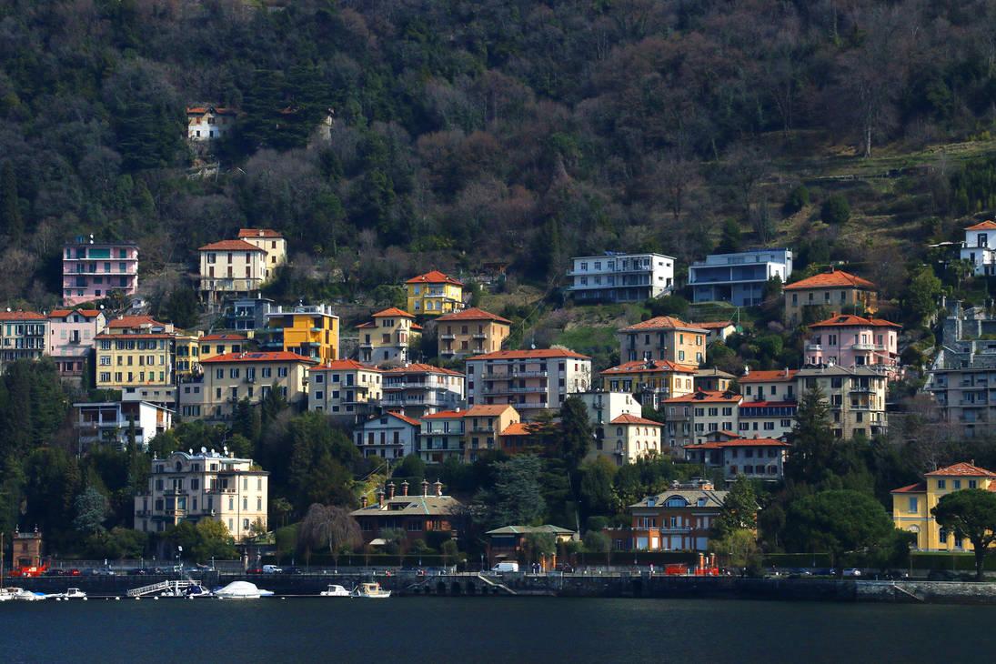 Como, Italy by Sinto-risky