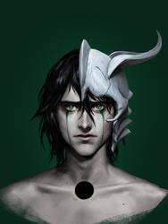 Bleach: realism. Ulquiorra by Sinto-risky