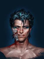 Bleach: realism. Grimmjow.