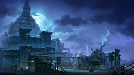 Lineage II: Rune town