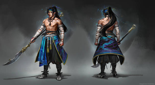 Character design: Xan