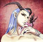 Demon's possession by Ashcat-desu