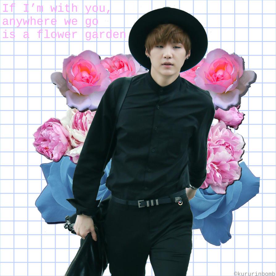 Flower boy Suga by JordanAlice