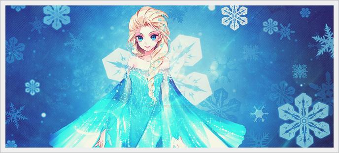 Elsa big signature~ by NightmareYuki