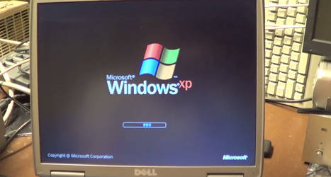 Windows XP is starting up, again! by dannydsi3d2