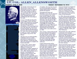Lt Col allen allensworth by ZandKfan4ever57