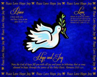 I Wish You All Peace Love Hope and Joy by ZandKfan4ever57