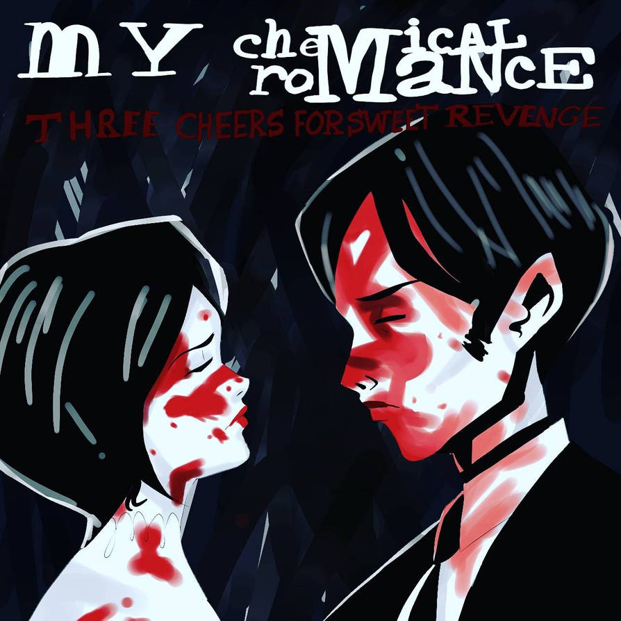 Three Cheers For Sweet Revenge Album Cover by Artsy-Aki on DeviantArt