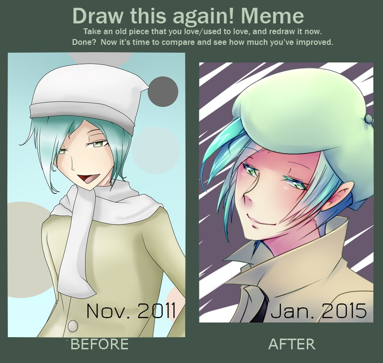 Draw this Again: Yuuki by Antares25