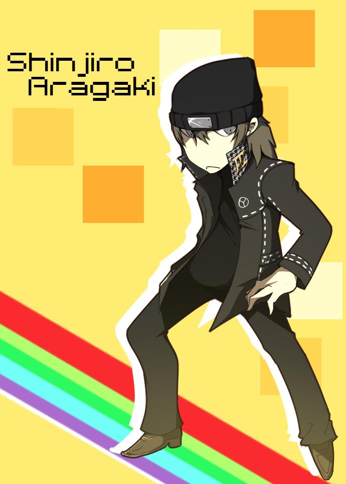 Persona Q Yasogami Shinjiro by Antares25