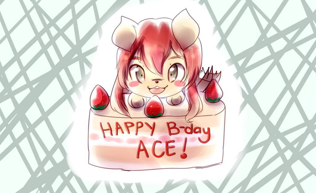 Happy Birthday Ace~ by Antares25