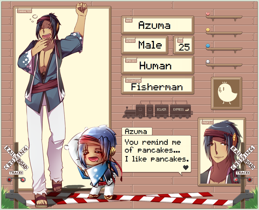 EE App Sheet: Azuma by Antares25