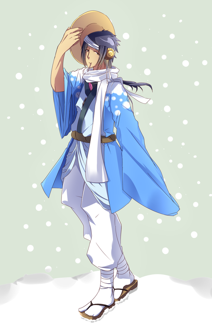 EE: Azuma's Winter Outfit by Antares25
