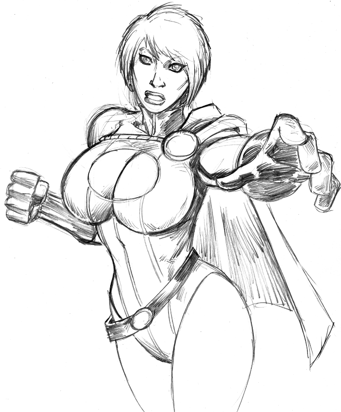 PowerGirl DSC by 3XLT