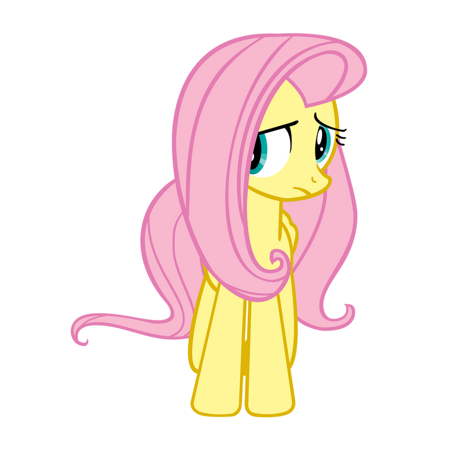 Shy Fluttershy vector by Angel-the-Bunny