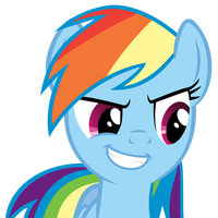 Rainbow Dash awesome face