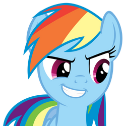 Rainbow Dash awesome face by Angel-the-Bunny