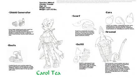 Reference Sheets - Carol Tea - Tides of Chaos 2 by IvoRobotnikSBZ