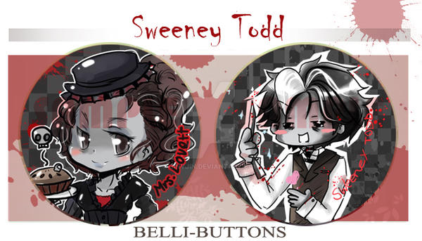 Sweeney Todd +Button+ by jinyjin