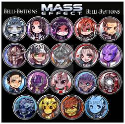 Mass Effect Buttons 2