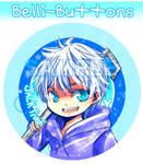 Jack Frost Button by jinyjin