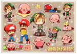 Super Smash Sticker Sheet